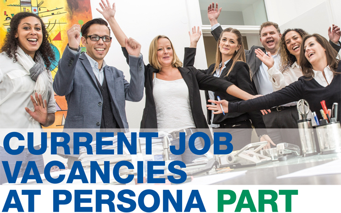 Current Job vacancies at persona part